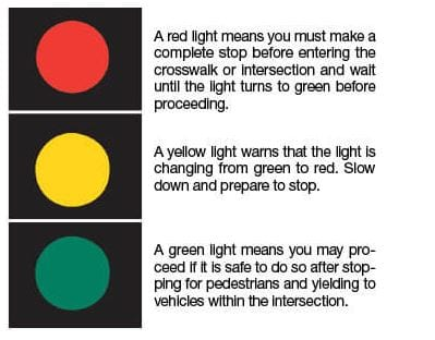 yellow doesn t mean speed up and other traffic reminders dalton